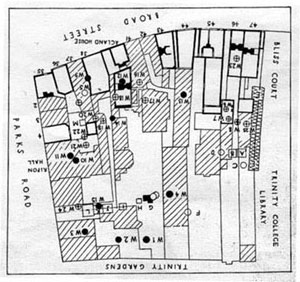 General plan of the New Bodleian site