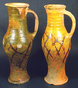 Baluster type jugs