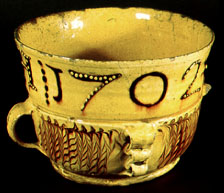 A Staffordshire type slipware