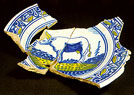 Netherlandish delftware;  identifer pw34d