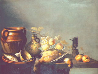 Still-life by Harmen van Steenwyck